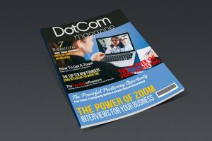 "DotCom Magazine ""The Zoom Interview Issue"""