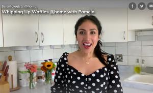 Pamela's waffles don't just taste good, they are also good for you.