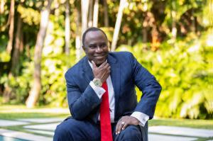 "Professor Dr. Bankole Johnson, physician and psychiatrist who recently debuted his ""Six Rings"" book series"
