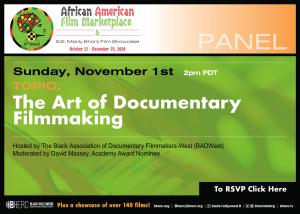 Art of  Documentary Flier