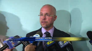 News 12 New York, Interview with Deron Castro (Mr. Castro and Mr. Patrick Megaro often cooperated in cases)
