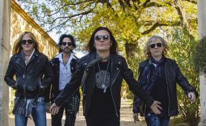 The Dead Daisies Are: Doug Aldrich, Deen Castronovo, Glenn Hughes, David Lowy