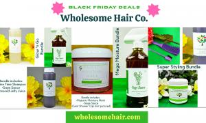 Black-Owned Natural Hair Care Deals for Black Friday 2020 Wholesome Hair Co.