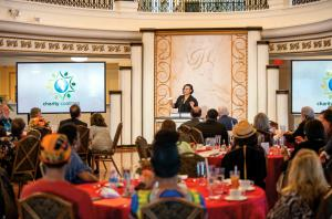 Monthly meetings in the ballroom of the Fort Harrison bring together like-minded groups to network and share their programs.