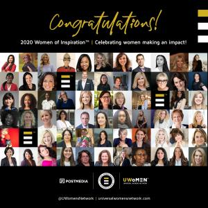 2020 Women of Inspiration Award Recipients Announced! Recognizing the achievements of women across Canada from diverse industries who lead, inspire and motivate!