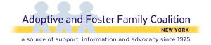The Adoptive and Foster Family Coalition of New York (AFFCNY)