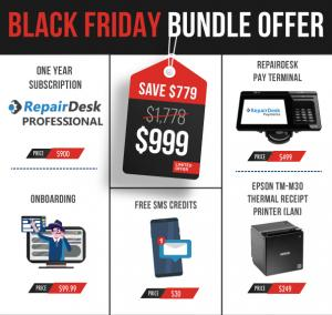 RepairDesk BlackFriday Bundle Offer - $999