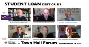 The Student Loan Debt Crisis Town Hall, a transformative conversation about how the student debt crisis is undermining America's future.