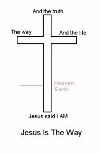 Jesus Is the Way Cross