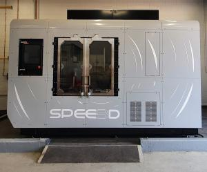 Navy WarpSPEE3D 3D metal Printer installed at HMAS Coonawarra, Darwin
