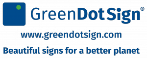 Green Dot Sign Logo