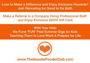 Love to Help Kids Join Goodie Foodie Club
