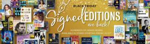 Barnes & Noble brings Signed Editions to stores on Black Friday.
