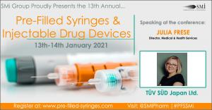 Pre-filled Syringes and Injectable Devices 2021