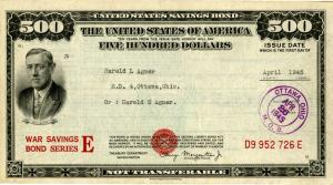Collect U. S. Savings Bonds