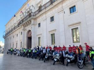 "Martina Franca City Hall formed a partnership with Motoclub Revolution of Valmadrera and the ""I Say No to Drugs"" Association to combat drug use and promote sports and cultural activities for young people. (photo from Il Quotidiano.it)"