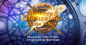 The 4th Quarter Illustrators of the Future Contest winners logo