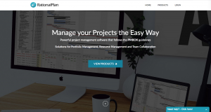 RationalPlan homepage