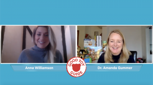 Anna Williamson and Dr. Amanda Gummer featured on live web chat