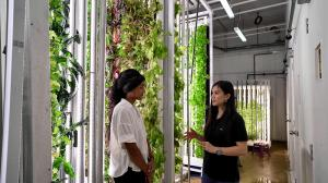 Rooted Host Nadia with Pro Growers at Archisen in Singapore