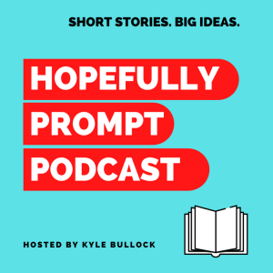 The logo of the Hopefully Prompt podcast