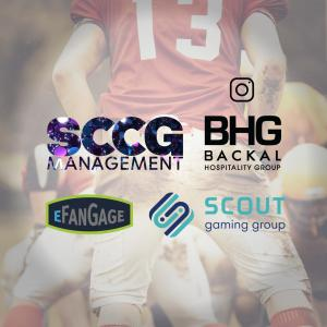 SCCG, BHG, Scout Gaming Group, eFanGage Logos