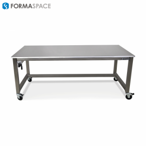 stainless steel top steel frame