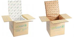 An image of the Vericool® Plus and Vericool® Fiber boxes now being offered by Crownhill Packaging.