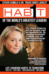Jeanette Eriksson – Creator of Nordicly, Higher Education Expert, Executive/Business Coach