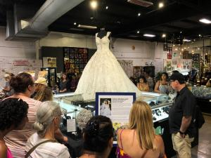 The James Irvine Wedding exhibit was a popular attraction at the 2018 Orange County Fair