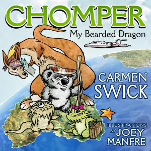 Just in time for the holidays, Award Winning Author, Carmen Swick Launches Latest Book,  Chomper My Bearded Dragon - available on Amazon and all book purchasing platforms.