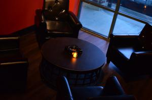 Take a look inside the lounge at The Toasted Foot Lounge in Callaway