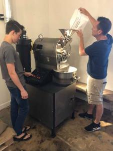 Having attained a dedicated following of coffee lovers over the past two years, Whalen finally achieved his ultimate dream of being able to personally roast his own high quality coffee beans when the company acquired their first roaster this past spring.