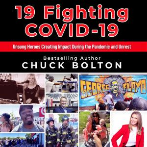 19 Fighting COVID-19 Audible book cover