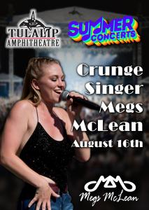 Megs Mclean Tulalip Amphitheatre Poster