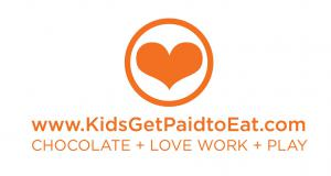 The Sweetest Gig for Kids #kidsgetpaidtoeat #thesweetestgig #kidslovework www.KidsGetPaidtoEat.com