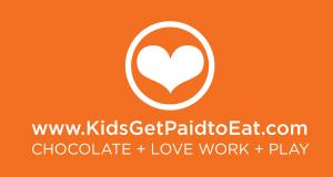Recruiting for Good is sponsoring The sweetest gig for kids to eat chocolate, love to work, and play. #kidsgetpaidtoeat #lasfinestchocolate www.KidsGetPaidtoEat.com