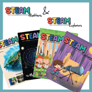 CPD Singapore's STEAM Magazines