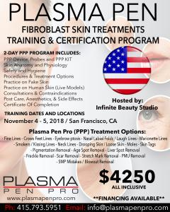Plasma Pen Pro Plamere Plasma Pen Training and Certification Program in USA