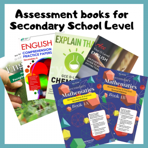 CPD's assessment books for Secondary school students