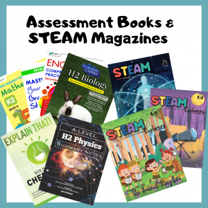 CPD's assessment books and STEAM Magazines