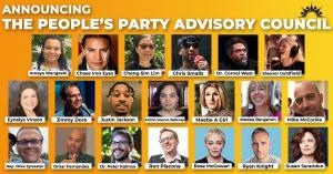 The People's Party Advisory Council names its newest members.