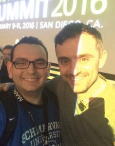 Haris Reis and Gary Vaynerchuk