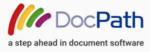 DocPath logo - A step ahead in document software