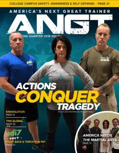 Actions Conquer Tragedy. Lisa Tokes, the ultimate fighter.