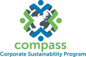 logo of Cascade's Compass corporate sustainability program