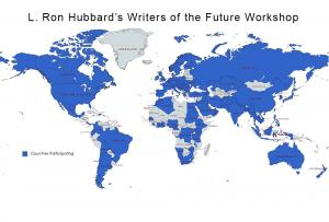 107 countries participating in L. Ron Hubbard's Online Writing Workshop for New Year 2021