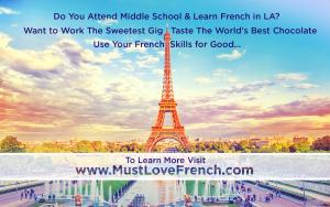 Join French Kid Team for The Sweetest Gig #mustlovefrench #thesweetestgig kidslovework www.MustLoveWork.com