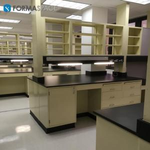 integrated lab casework with led lights