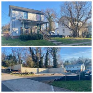 "The property includes 2 existing 2 bedroom 1 bath incoming producing homes and the ready to complete ""Oakview Condo"" project that has been approved for two 3 unit condos (6 condos total"